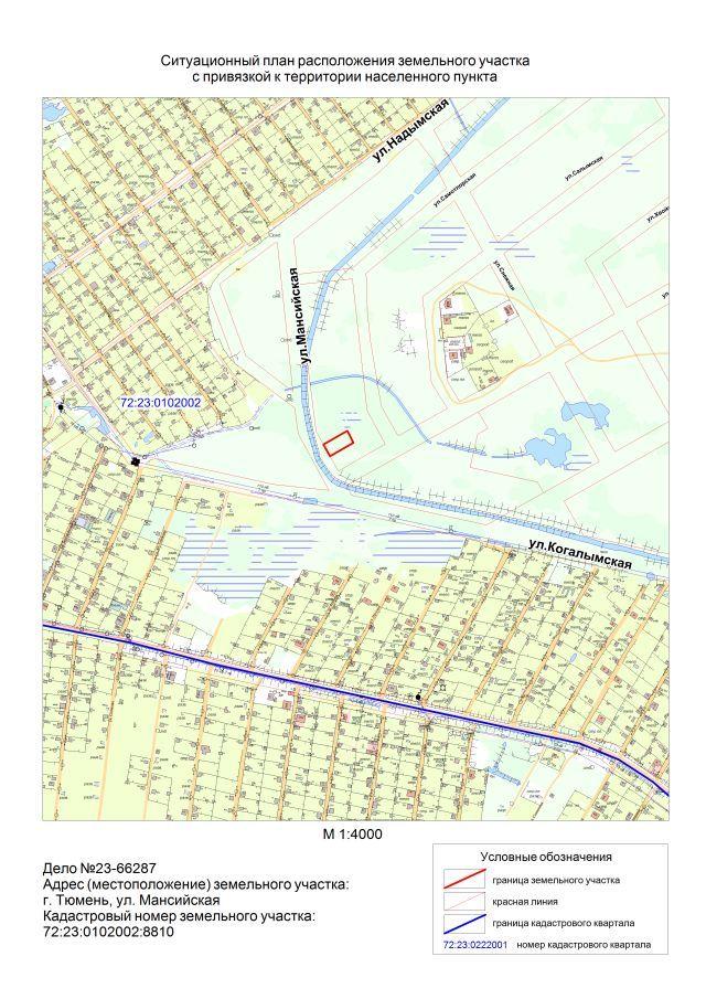Ситуационный план земельного участка: как посмотреть и скачать через интернет