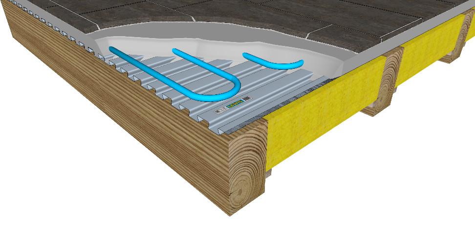 Монтаж электрического теплого на деревянный пол | opolax.ru