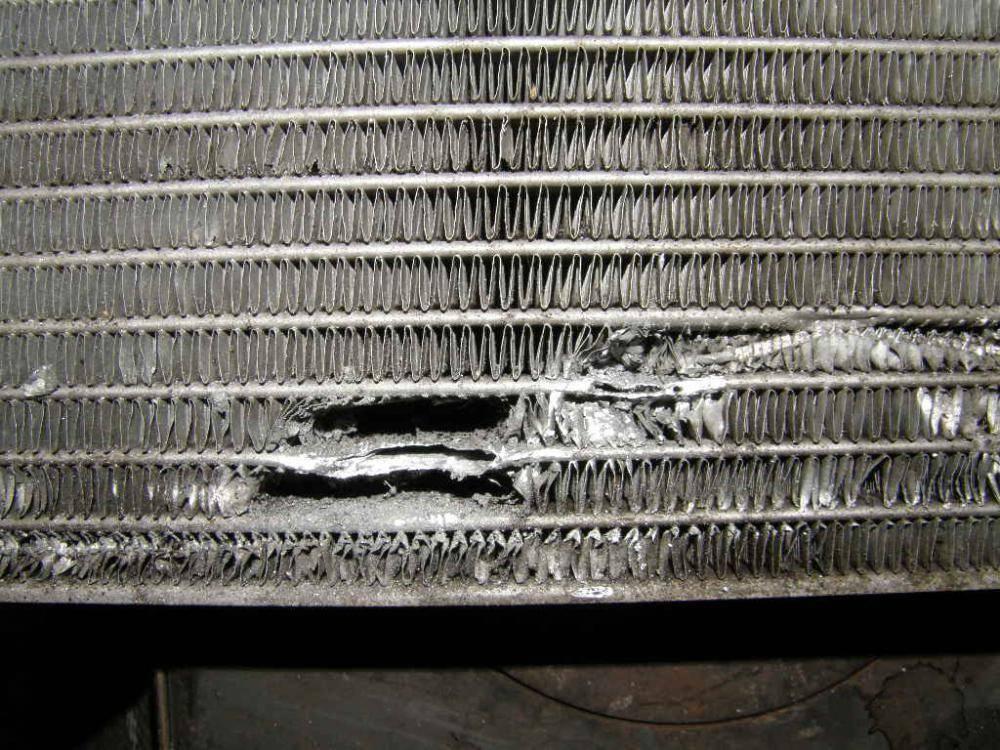 Как запаять радиатор - 95 фото починки разных видов в домашних условиях