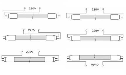 Особенности и отличия люминесцентных ламп от светодиодных