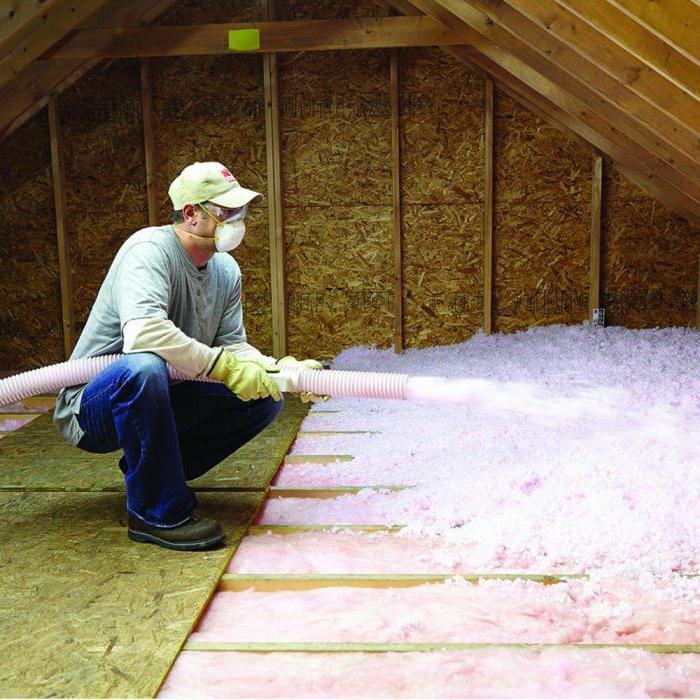 Чем утеплить потолок в частном доме изнутри?