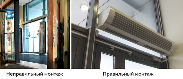 Тепловая завеса на входную дверь: правила выбора, отзывы