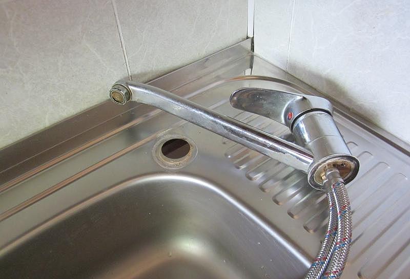 Как снять смеситель на кухне - все о канализации