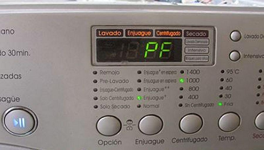 Ошибка 03 на стиральной машине lg
