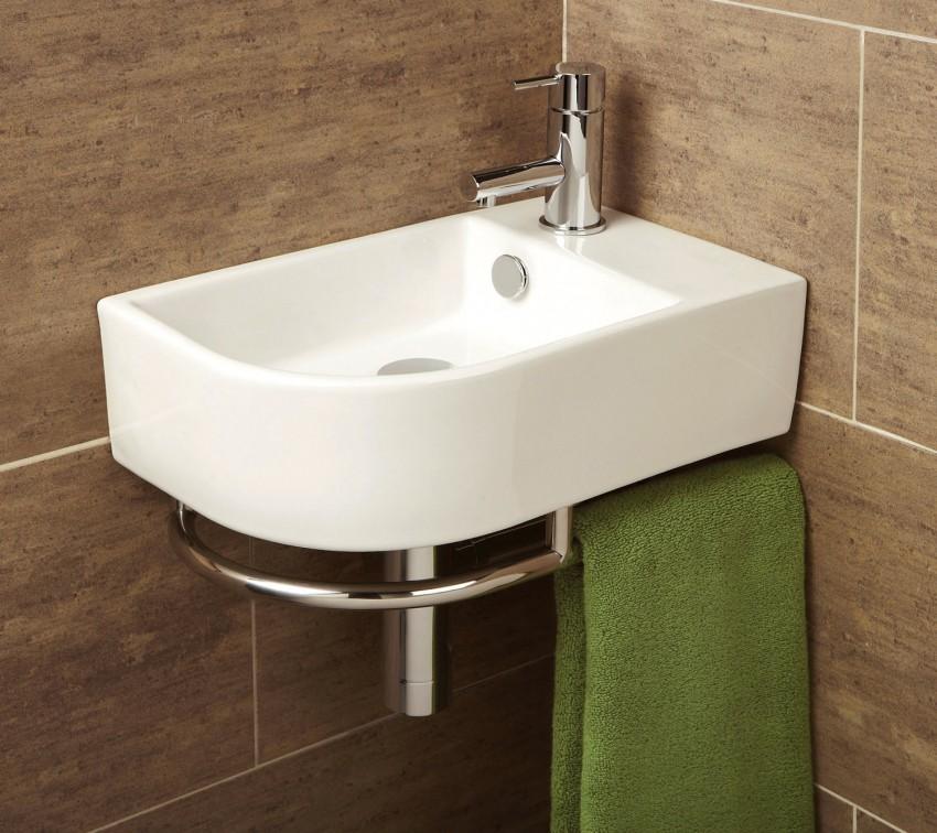 Размеры раковины для ванной комнаты: стандарты и другие виды