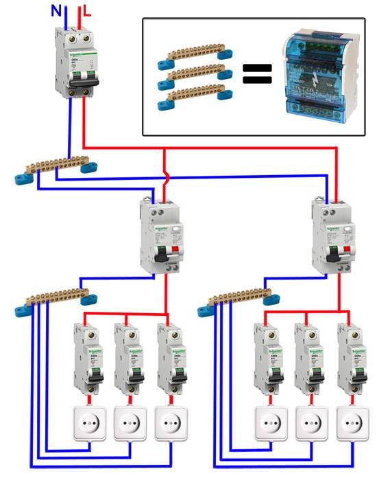 Схема подключения узо: правильный монтаж в двухпроводной сети
