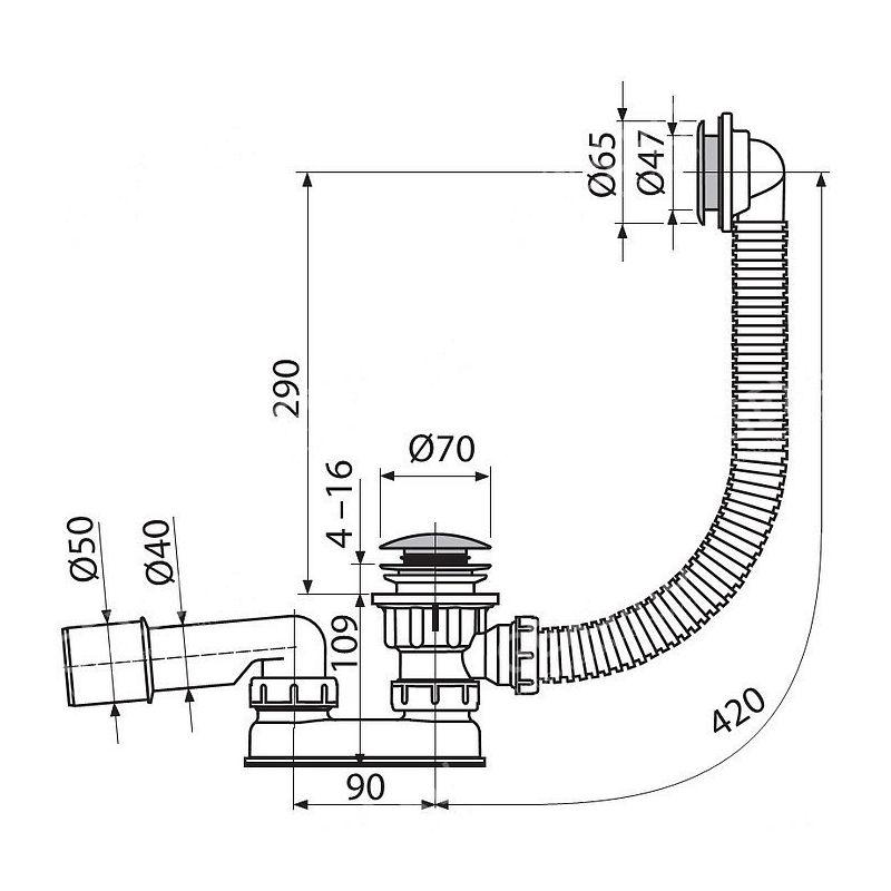 Слив для душевой кабины: особенности устройства и установки