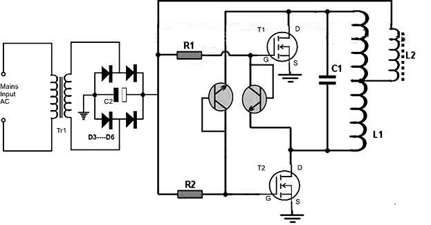 Индукционные нагреватели своими руками - как сделать? простая схема и инструкция