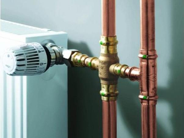 Медные трубы для отопления и водопровода: установка и особенности монтажа