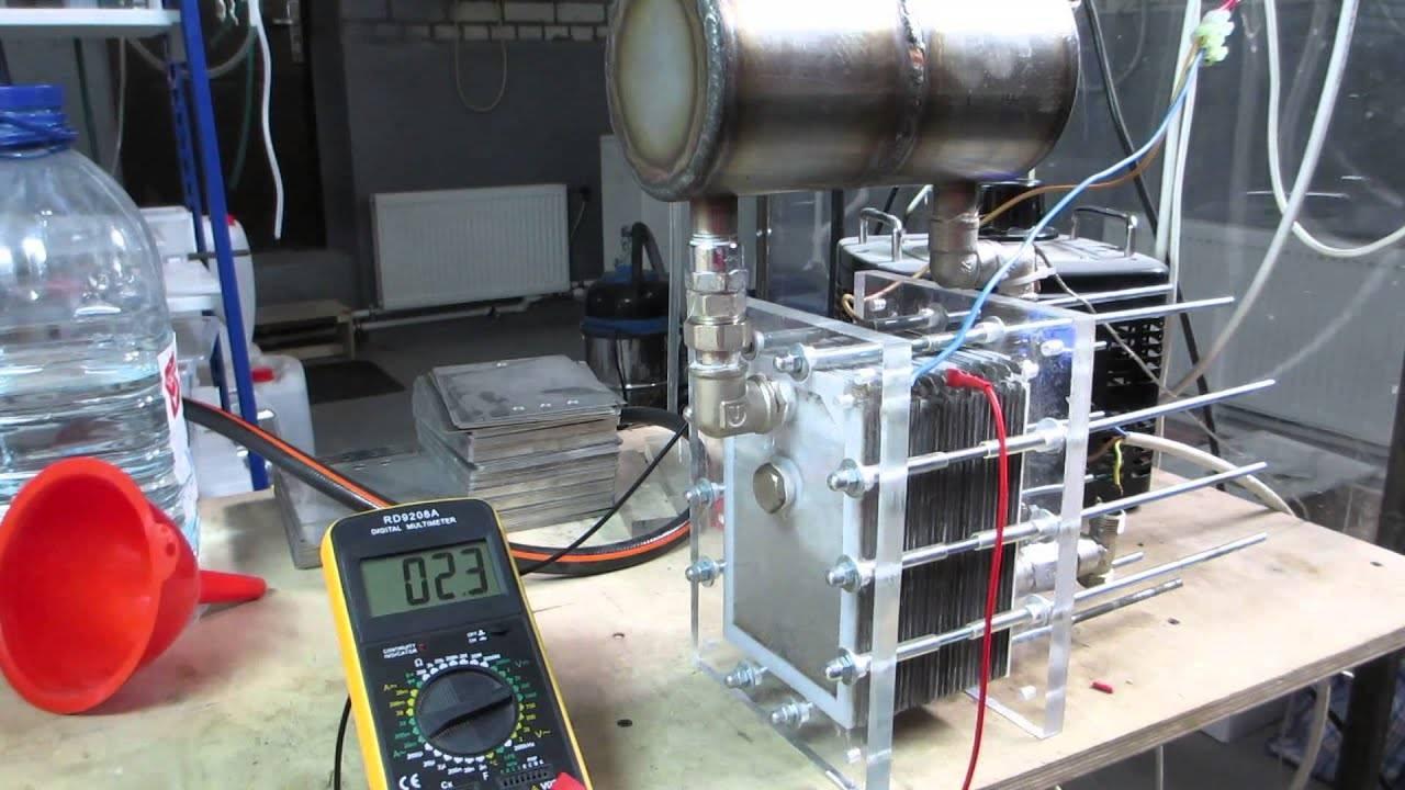 Отопление водородом своими руками