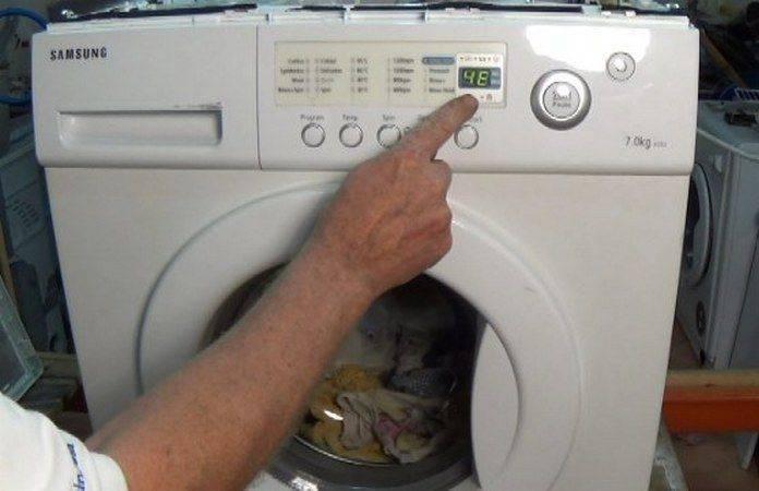 Почему на дисплее стиральной машины самсунг возникает ошибка е9, как ее устранить?