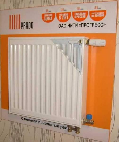 Радиаторы prado: стальные панельные батареи прадо: виды, преимущества, монтаж