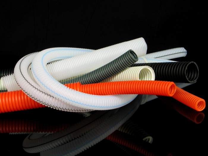 Гофра для кабеля – технология прокладки электропроводки в специальных гофрах (80 фото)