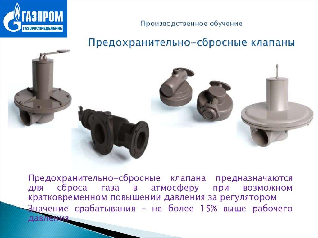 Предохранительные клапаны для насосов
