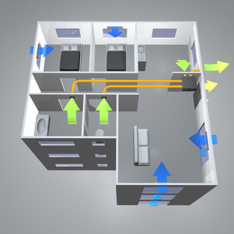 Вентиляция в комнате: зачем нужна, требования, как сделать своими руками
