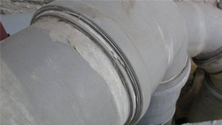 Герметик для канализационных труб — канализация
