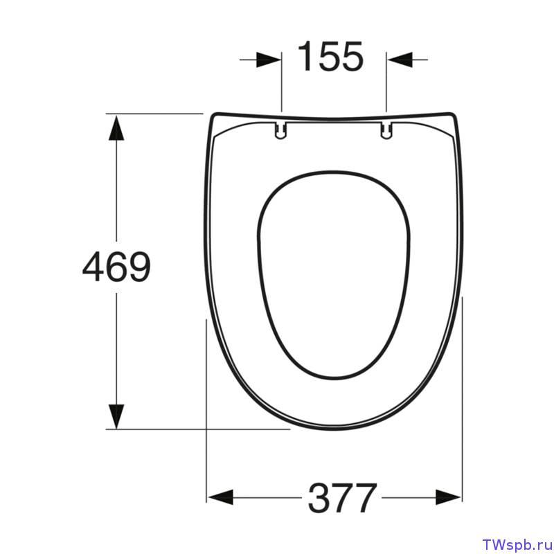 Как подобрать сиденье для унитаза по размеру: каким должно быть сиденье для унитаза