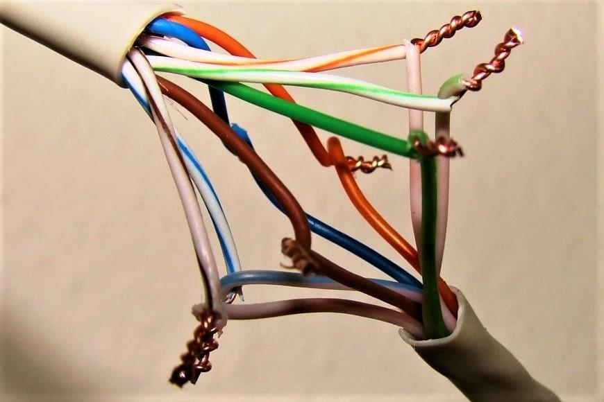 Соединение витой пары между собой - наращивание и ремонт
