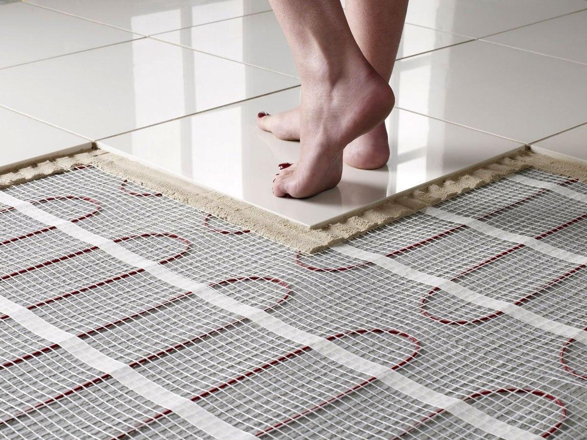 Теплый пол под плитку какой лучше - рассматриваем возможные варианты