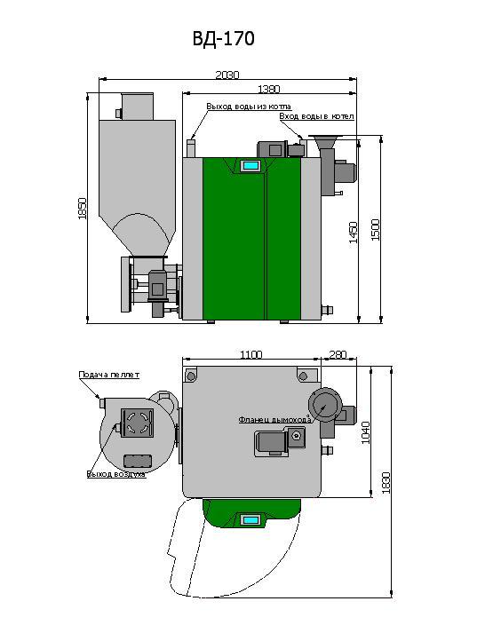 Пеллетный котел светлобор: характеристики и преимущества - дом и участок