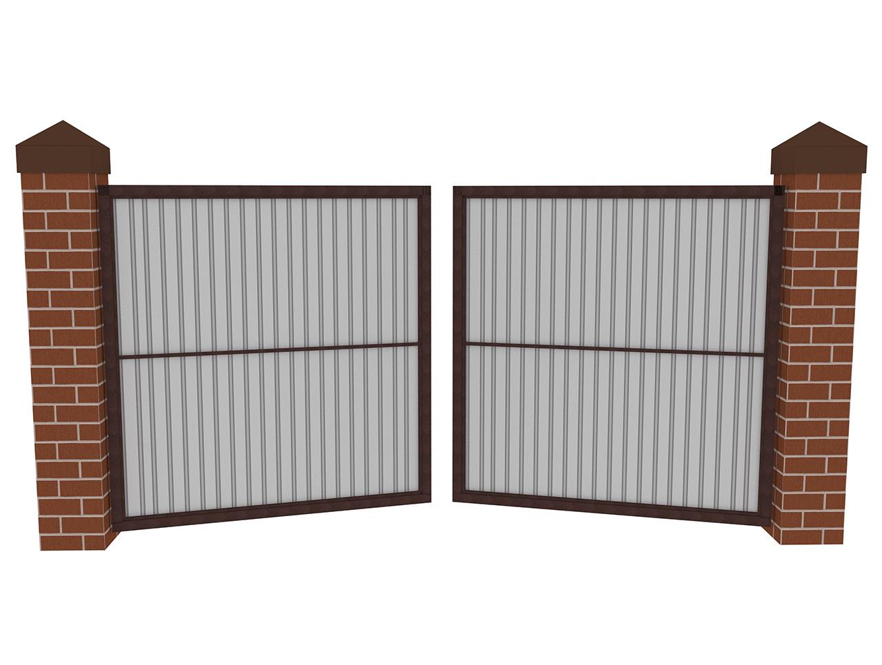 Варианты современных ворот для частного дома