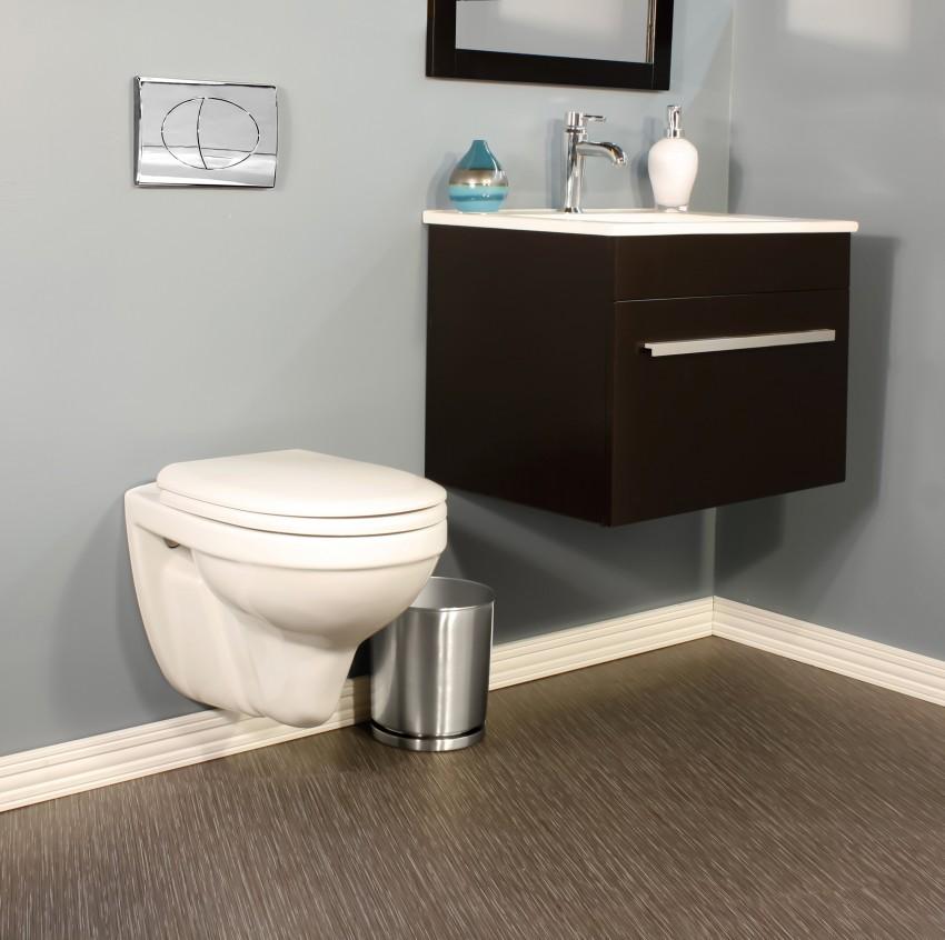 Туалет с инсталляцией — идеи дизайна с фото