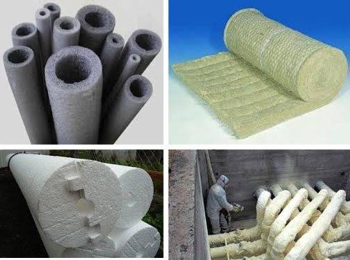 Теплоизоляционные материалы для труб: теплоизоляция горячих труб отопления, утеплитель, минвата