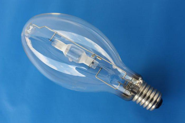 Металлогалогенные лампы (мгл): особенности устройств