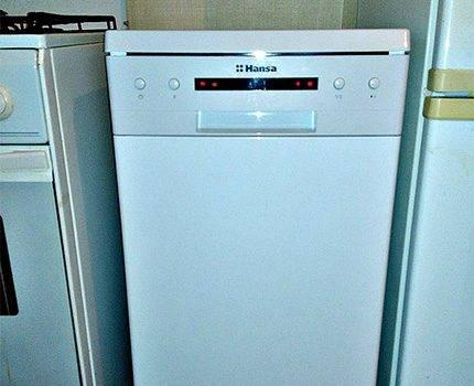 Отзывы о посудомоечной машине ханса zwm 416 wh