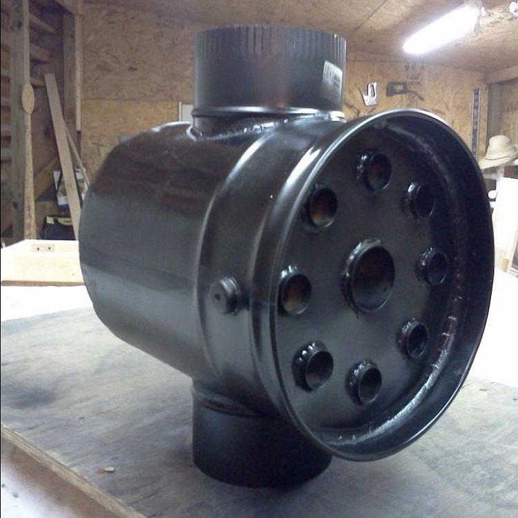 Теплообменник на дымоход (экономайзер на трубу печи): виды, выбор