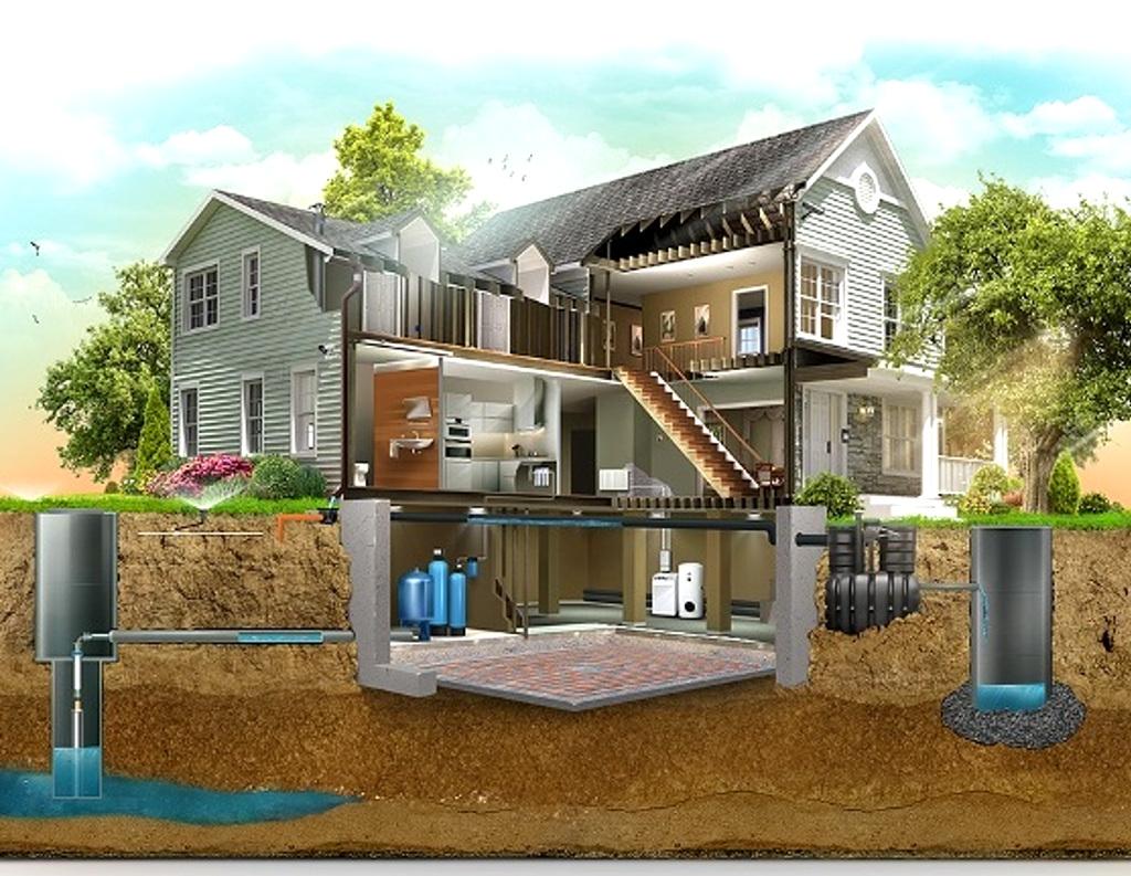 Альтернативное отопление частного дома без газа и электричества — современные технологии