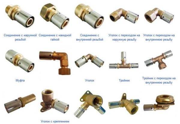 Все про пресс фитинги для металлопластиковых труб: чем они хороши (лучше других) + правила работы с ними