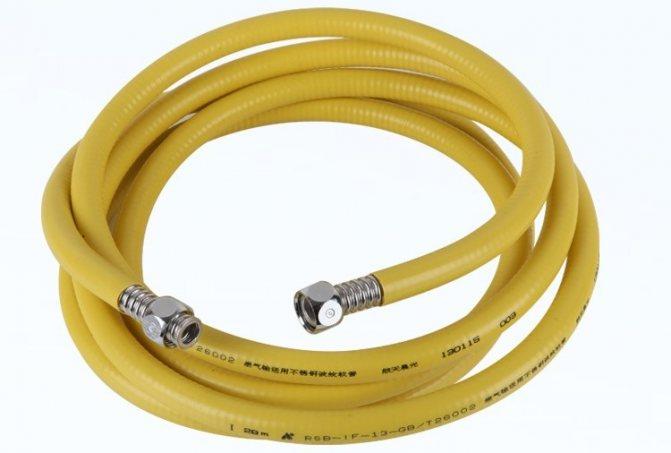 Шланг для газовой плиты: какой шланг лучше выбрать для подключения плиты? замена гибкой газовой подводки в квартире, максимальная длина шланга