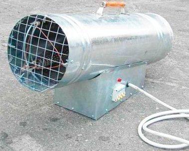 Тепловая газовая пушка своими руками — инструкция по сборке
