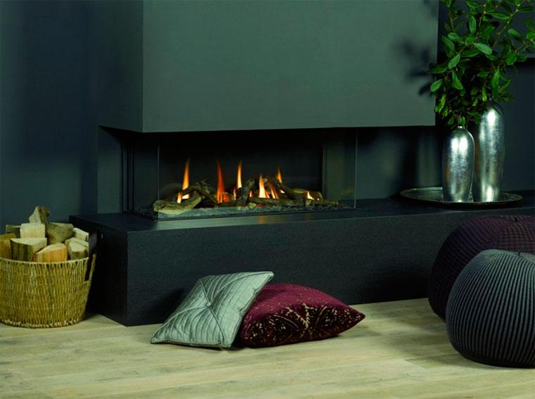 Обзор на газовые камины для дома, для квартиры, для дачи