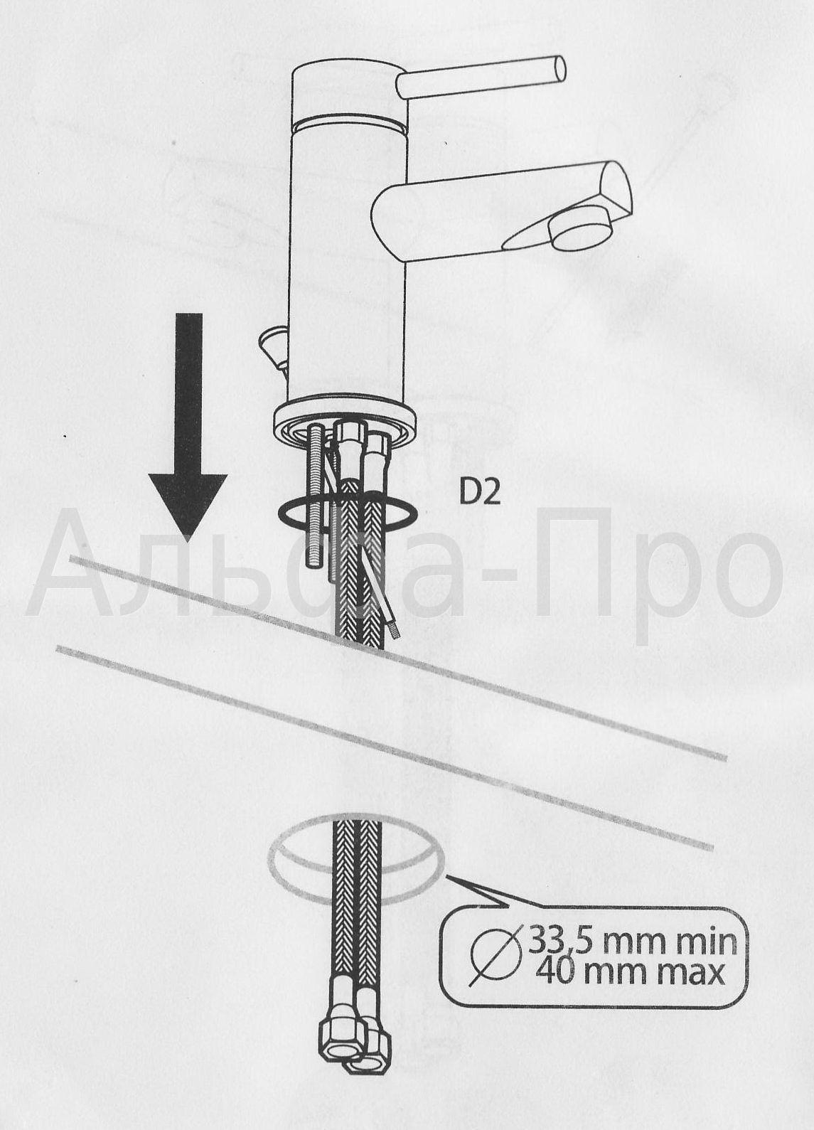 Правильная установка смесителя в ванной своими руками
