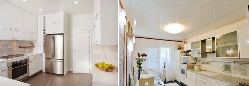 Какой выбрать натяжной потолок — глянцевый или матовый?
