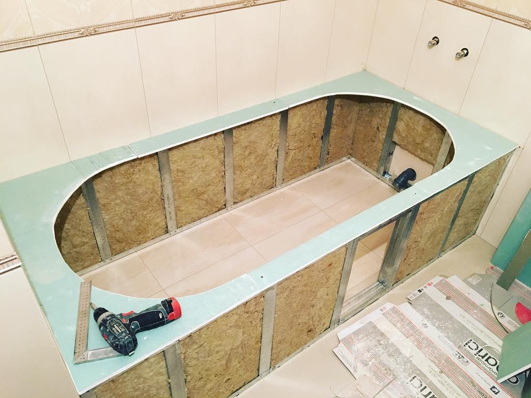 Шумоизоляция стальной ванны своими руками — видео инструкция и фото