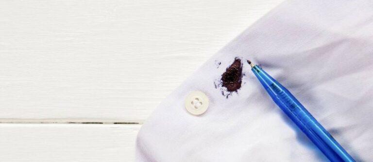 Как отстирать ручку (чернила) с белой рубашки?