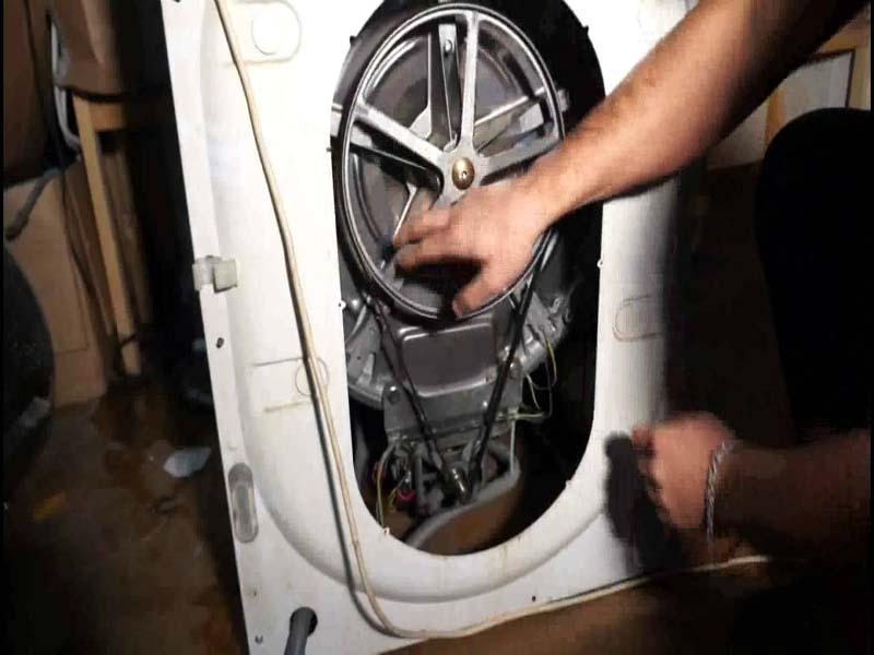 Как надеть ремень на стиральную машину? простая инструкция в 5 этапов