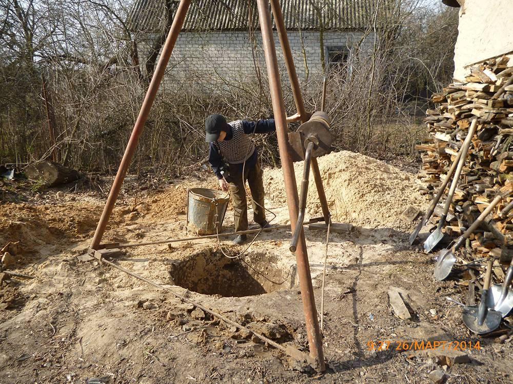 Колодец своими руками: как выкопать правильно