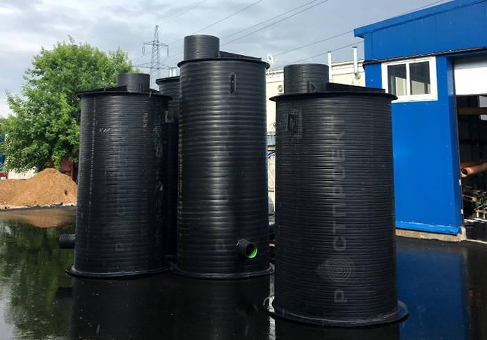 Пластиковые канализационные кольца