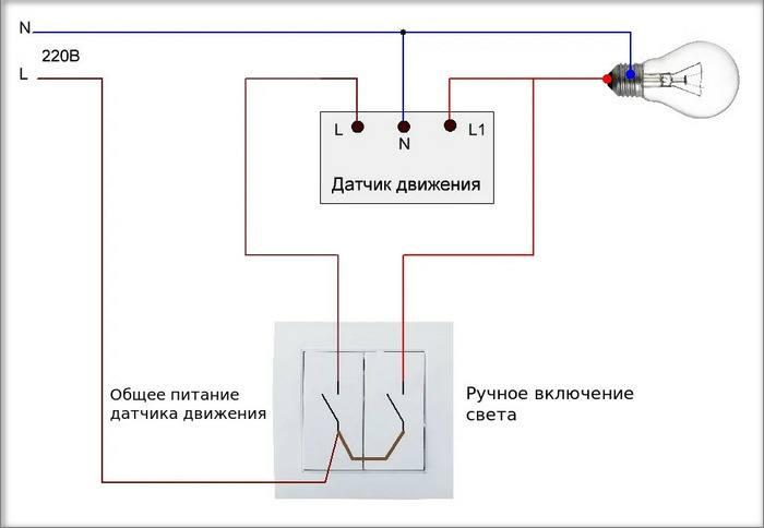 Порядок подключения датчика движения к лампочке: как настроить и отрегулировать датчик