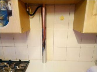 Как спрятать газовую трубу на кухне – различные способы решения задачи. пошаговое фото-инструкция