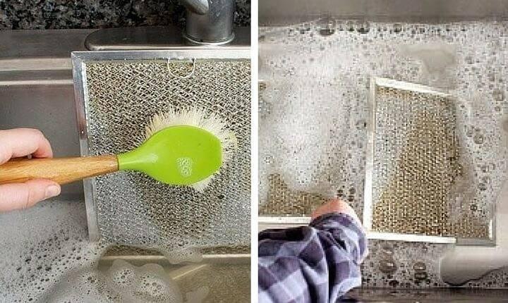 Как почистить вытяжку на кухне от жира, чем отмыть в домашних условиях