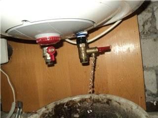 Как слить воду с водонагревателя – подробная инструкция