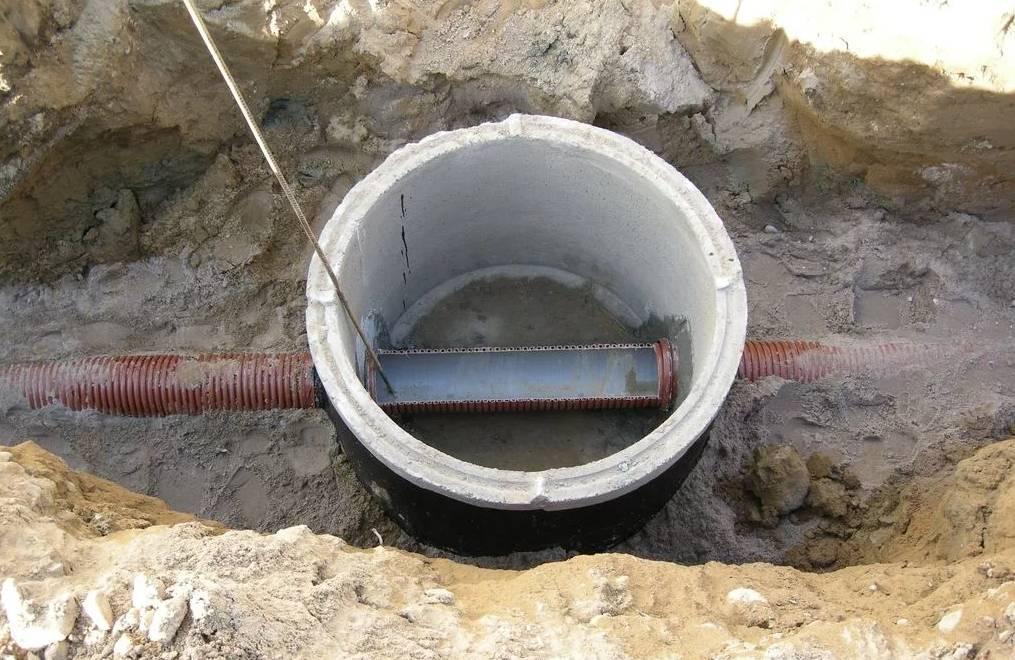 Дренажный смотровой колодец - все о канализации