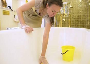Особенности чистки ванны – народные рецепты и магазинные средства