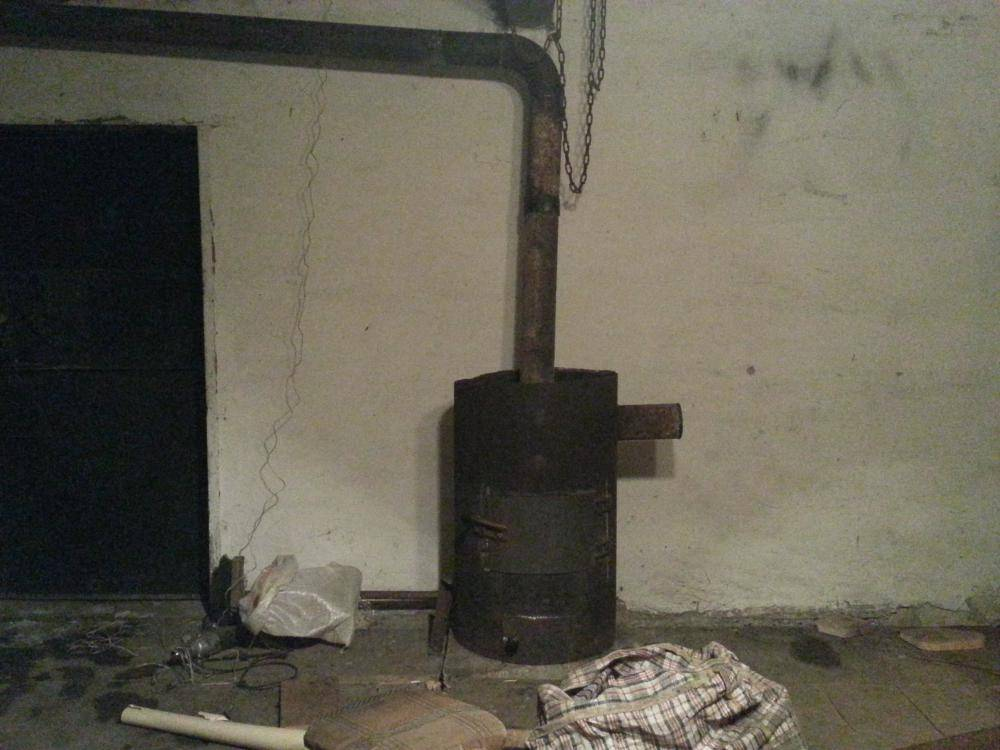 «буржуйка» в гараж (60 фото): как сделать печь на дровах своими руками, как правильно установить дымоход