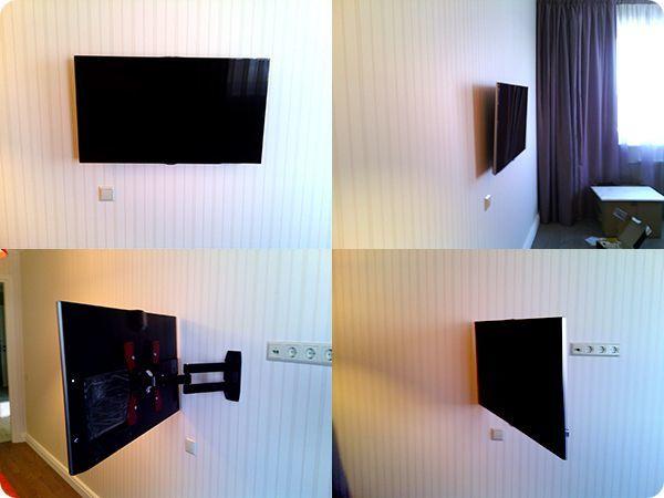Розетки для телевизора на стене: высота и расположение